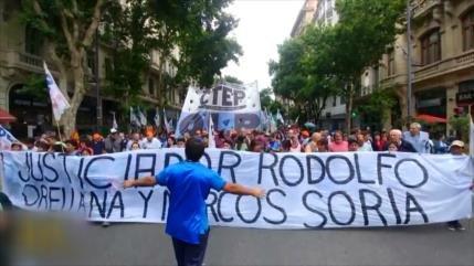 Masivas protestas en Argentina contra el G20 y el FMI