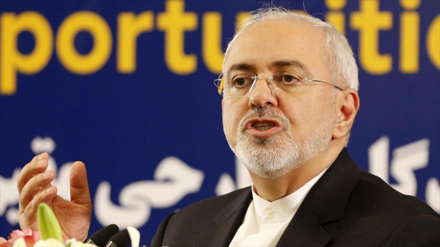 El canciller de Irán, Mohamad Yavad Zarif, 16 de julio de 2018. (Foto: AFP)
