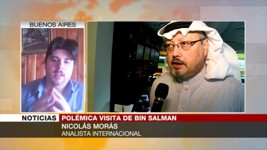 """Morás compara a Arabia Saudí con Israel por su política """"genocida"""""""