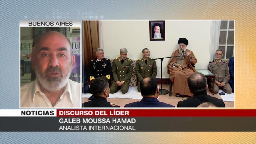 """Hamad: Declaraciones del Líder iraní son """"lógicas y apropiadas"""""""