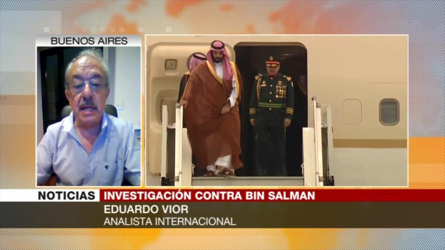 Vior: Improbable la detención de Bin Salman por estatus diplomático