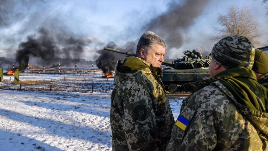 Poroshenko acusa a Rusia de intentar anexarse toda Ucrania | HISPANTV