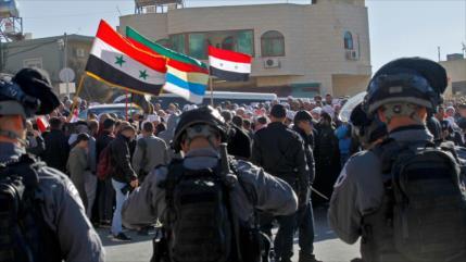 General sirio prevé pronta liberación del Golán de manos de Israel