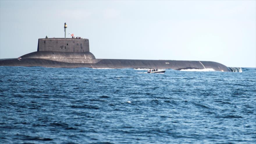 'Submarinos rusos representan una seria amenaza para EEUU'