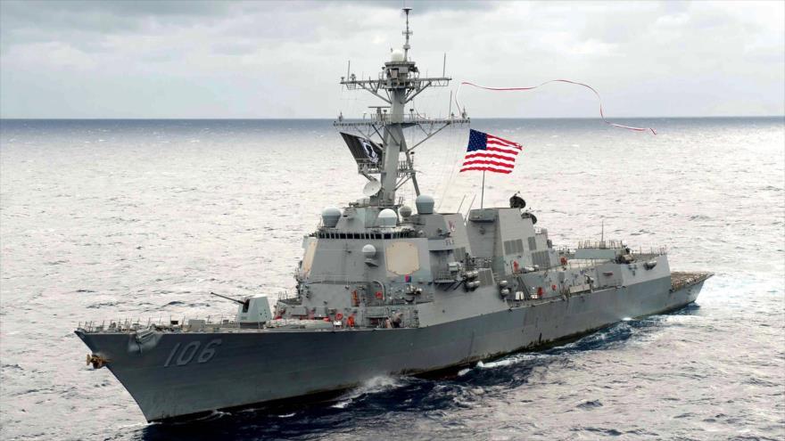 Buques de EEUU cruzan el estrecho de Taiwán, en desafío a China | HISPANTV