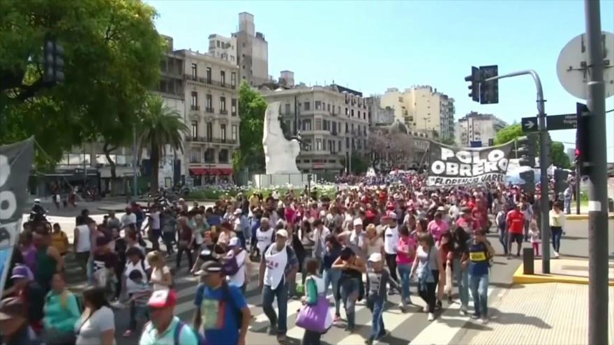 Venta de armas a Riad. EEUU y China. Protesta en Argentina