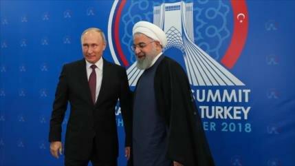 Putin respalda acuerdo de zona de libre comercio Irán-UEEA
