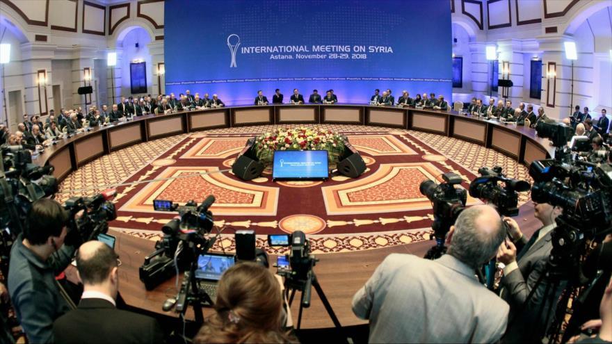 Rusia, Irán y Turquía abogan por respetar soberanía y unidad de Siria