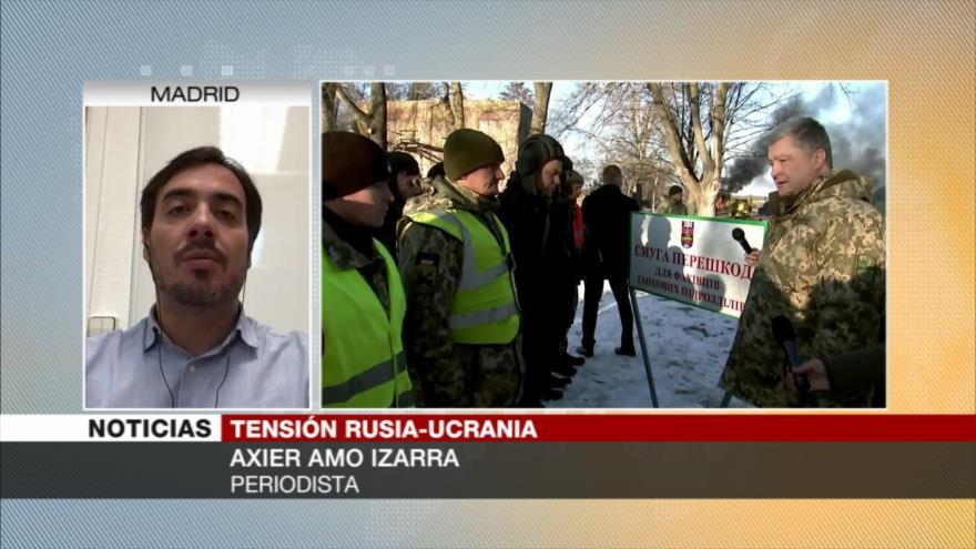 Amo Izarra: Poroshenko dirige a Ucrania a un Estado despótico