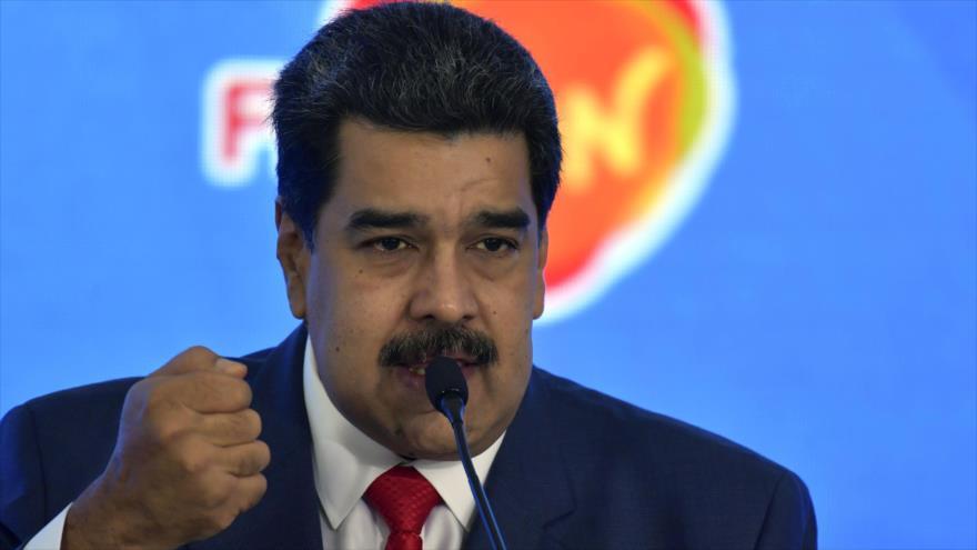 Maduro expresa solidaridad de Venezuela con Palestina
