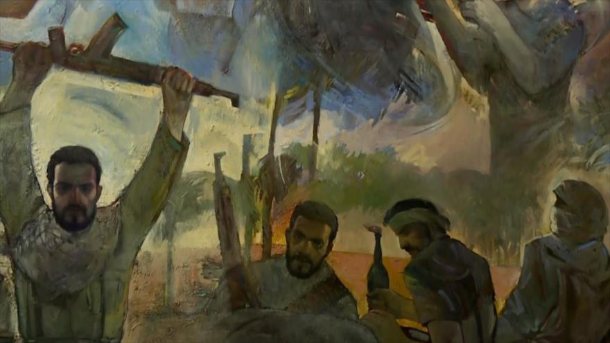 Artistas iraníes se solidarizan con el pueblo palestino