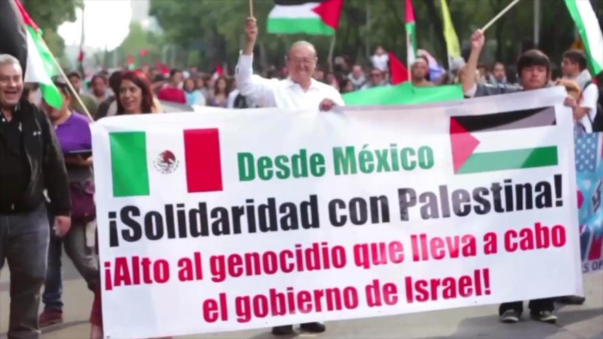 México expresa su solidaridad con Palestina