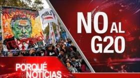 El Porqué de las Noticias: ¿Paz para Yemen?. Solidaridad Palestina. Indignación por Cumbre G20