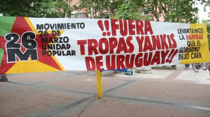 Rechazo de ingreso de tropas de EEUU en Uruguay por la cumbre G20