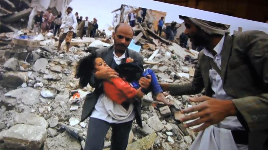 Palestinos protestan en Francia contra injerencia saudí en Yemen