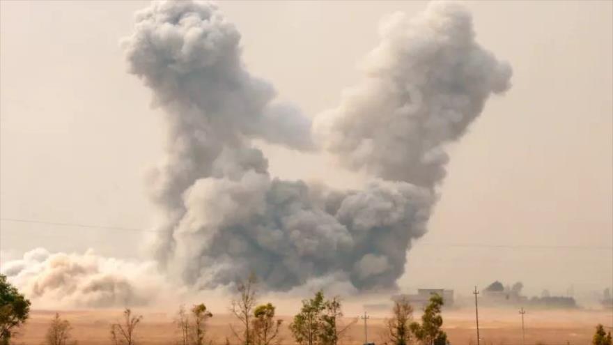 """Ataque de """"coalición"""" de EEUU mata a 30 civiles en Dier Ezzor"""