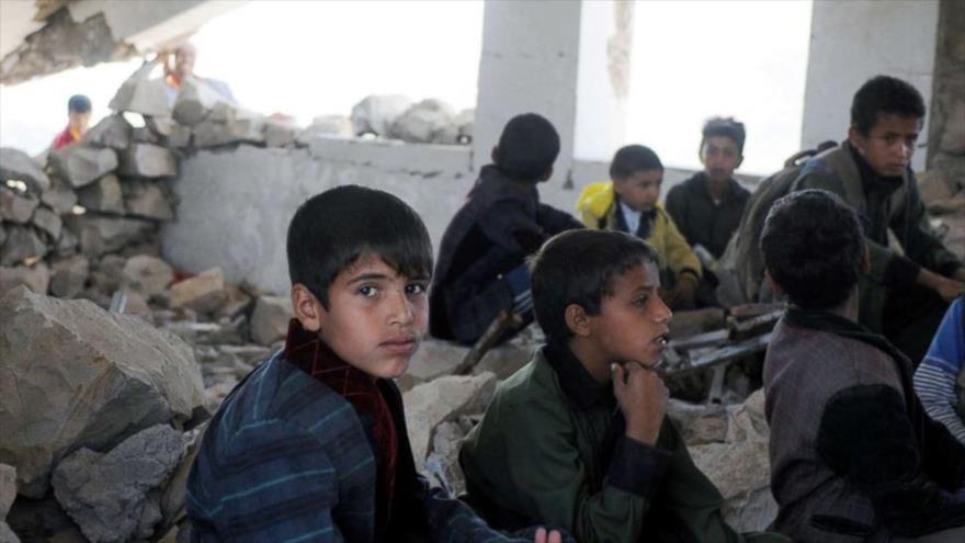 Unicef: Ofensiva contra Al-Hudayda ha dejado sin clases a 60 mil niños