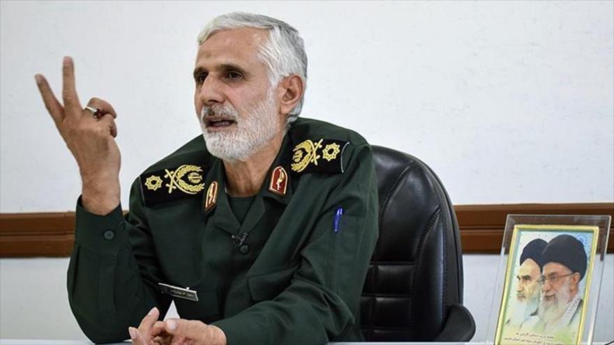 Said Farayian, el subcomandante de la Formación del Estado Mayor de las Fuerzas Armadas de Irán.
