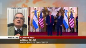 Zelaia: Occidente apoya implícitamente a Arabia Saudí en G20
