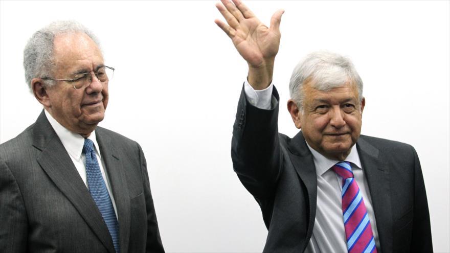 López Obrador asegura la terminación del periodo neoliberal en México