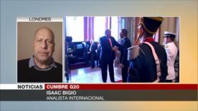 Bigio: De la cumbre del G20 no saldrán resultados positivos