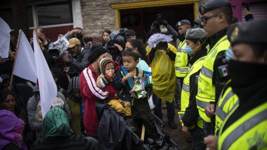 EEUU autoriza a policía civil ir a frontera sur ante migrantes