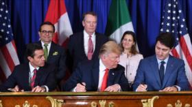 EEUU, México y Canadá firman tratado sucesor del TLCAN