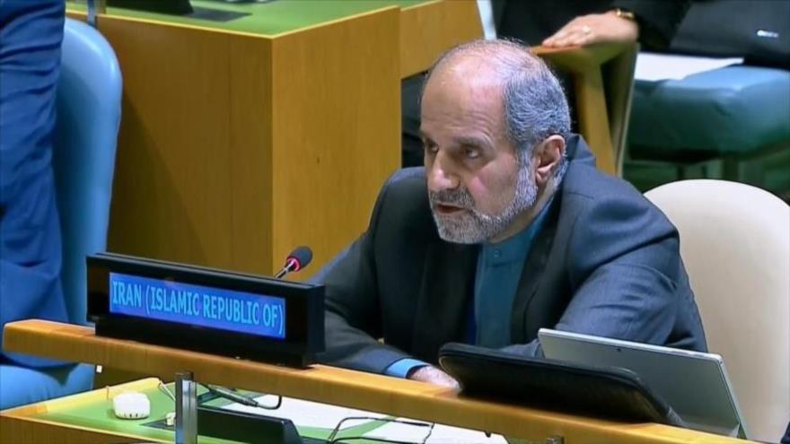 Irán pide condena mundial a declaraciones antiraníes de Pompeo