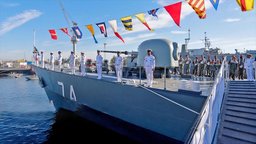 La Armada de Irán recibe un destructor de fabricación nacional