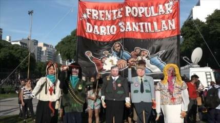 Multitudinaria marcha contra el G20 en Buenos Aires