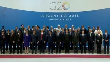 Cumbre del G20 se celebra en Argentina en un ámbito de tensiones