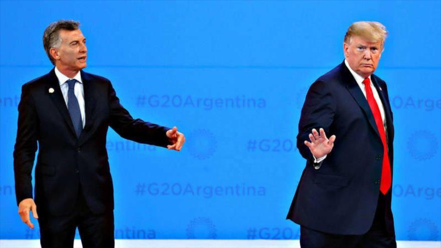 Insólita situación: Trump deja plantado a Macri en G20