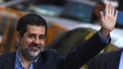 Dos dirigentes independentistas catalanes en huelga de hambre