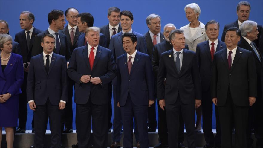 Sondeo: Cumbre del G20 está marcada por la guerra comercial de EEUU y China