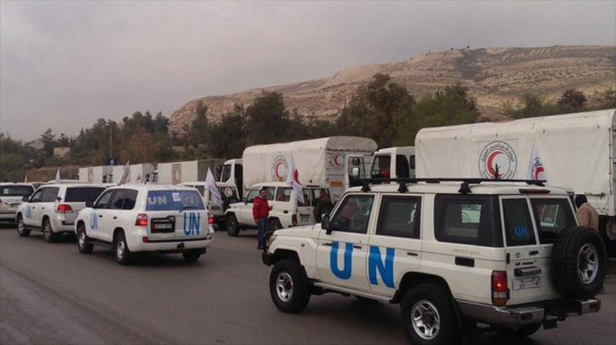 Atacan convoy de la ONU en zonas bajo control de aliados de EEUU en Siria