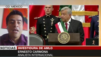 Carmona: AMLO va a acabar con 30 años de neoliberalismo en México