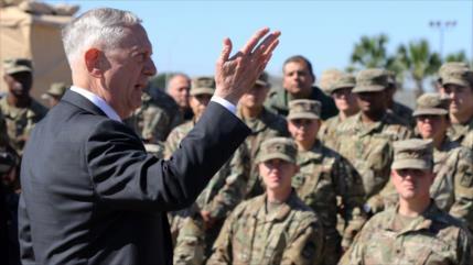 """Mattis critica el """"desprecio descarado"""" de Rusia hacia Ucrania"""