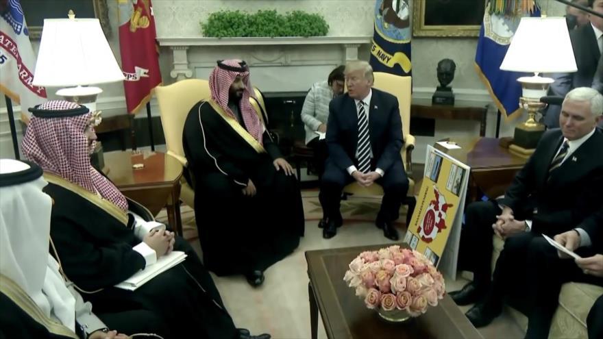 Política exterior de EEUU es manejada por Israel y Arabia Saudí