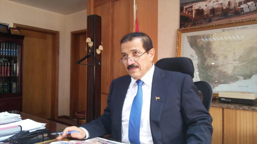 El ministro de Asuntos Exteriores del Gobierno de Salvación Nacional de Yemen, Hesham Sharaf.