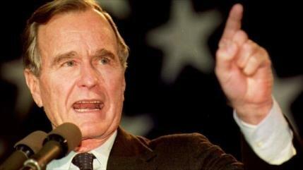 Muere Bush padre, defensor de la matanza de 66 niños iraníes
