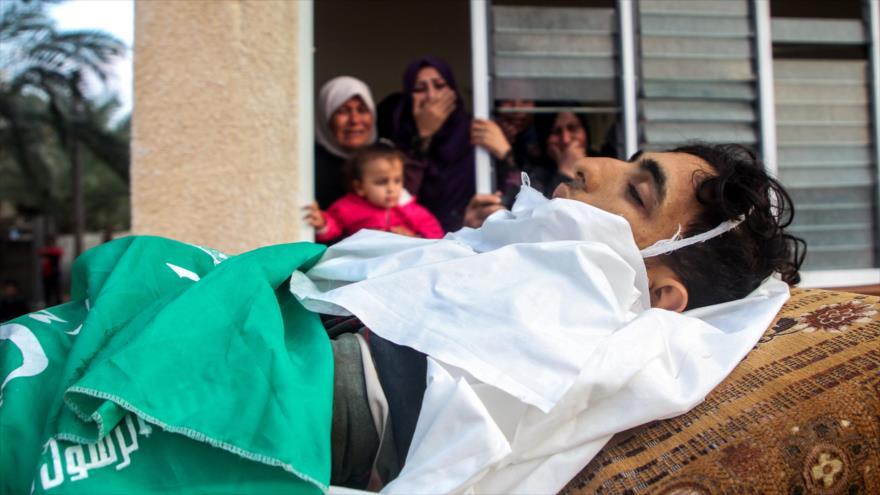 345 palestinos caen mártires tras decisión de EEUU sobre Al-Quds