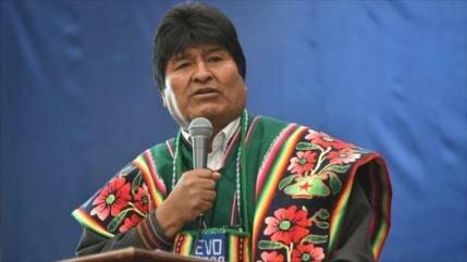 Morales acusa a EEUU de amedrentar y chantajear a Bolivia