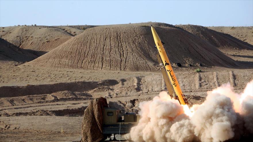 Prueban un misil balístico tierra-tierra Zolfaqar, de fabricació iraní.