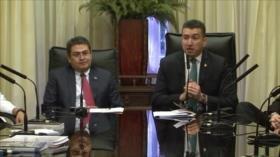 Acusan a Orlando Hernández de drenar fondos públicos de Honduras