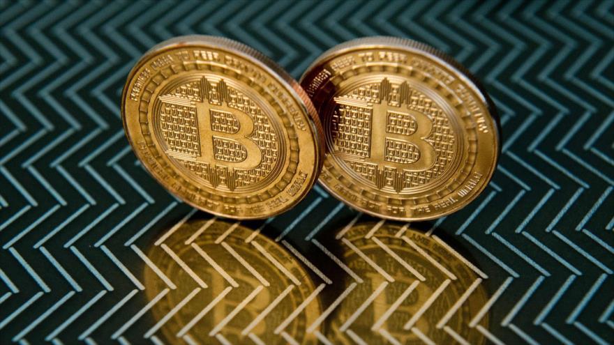 Representaciones de la criptomoneda Bitcoin en Washington, 17 de junio de 2014 (Foto: AFP).