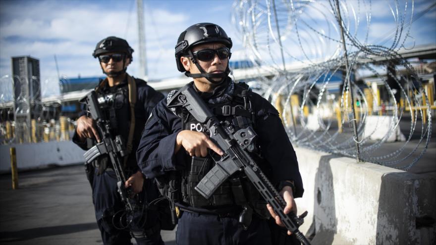 Vídeo: Agentes de EEUU realizan simulacros en frontera con México