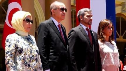 Presidente de Turquía visita Paraguay