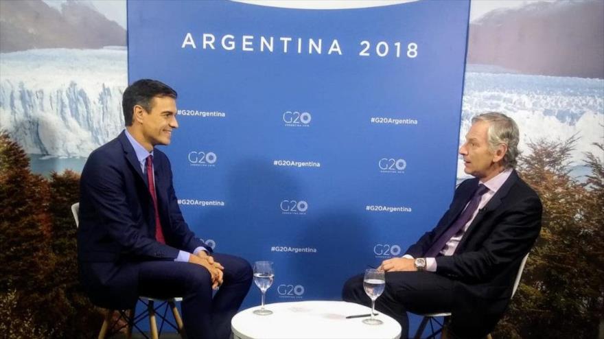 Sánchez pide esclarecer caso Khashoggi, pero defiende nexos con Riad