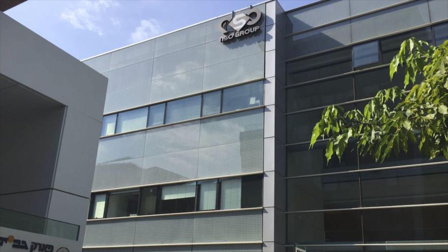 Sede de la compañía israelí NSO Group Technologies en los territorios ocupados palestinos.