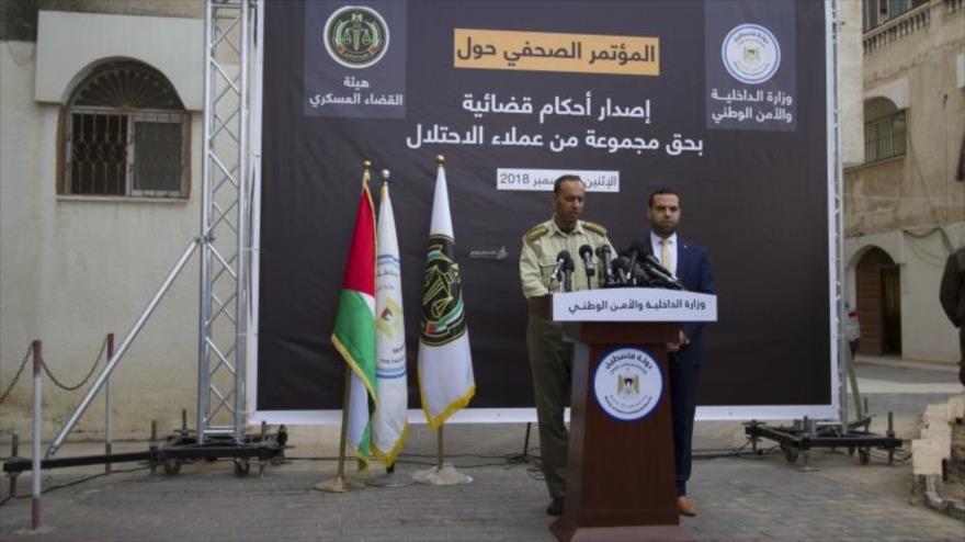 Tribunal de Gaza condena a muerte a seis espías de Israel